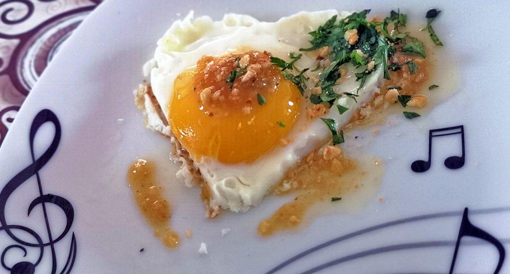 Uovo fritto di Giffoni